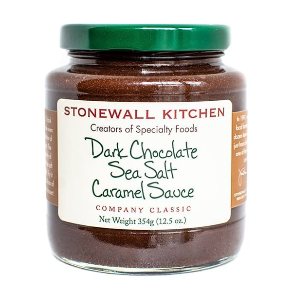 Stonewall Kitchen | Dark Chocolate Sea Salt Caramel Sauce