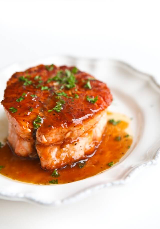 Salmon with Magical Butter Sauce Recipe   High Country Olive Oil