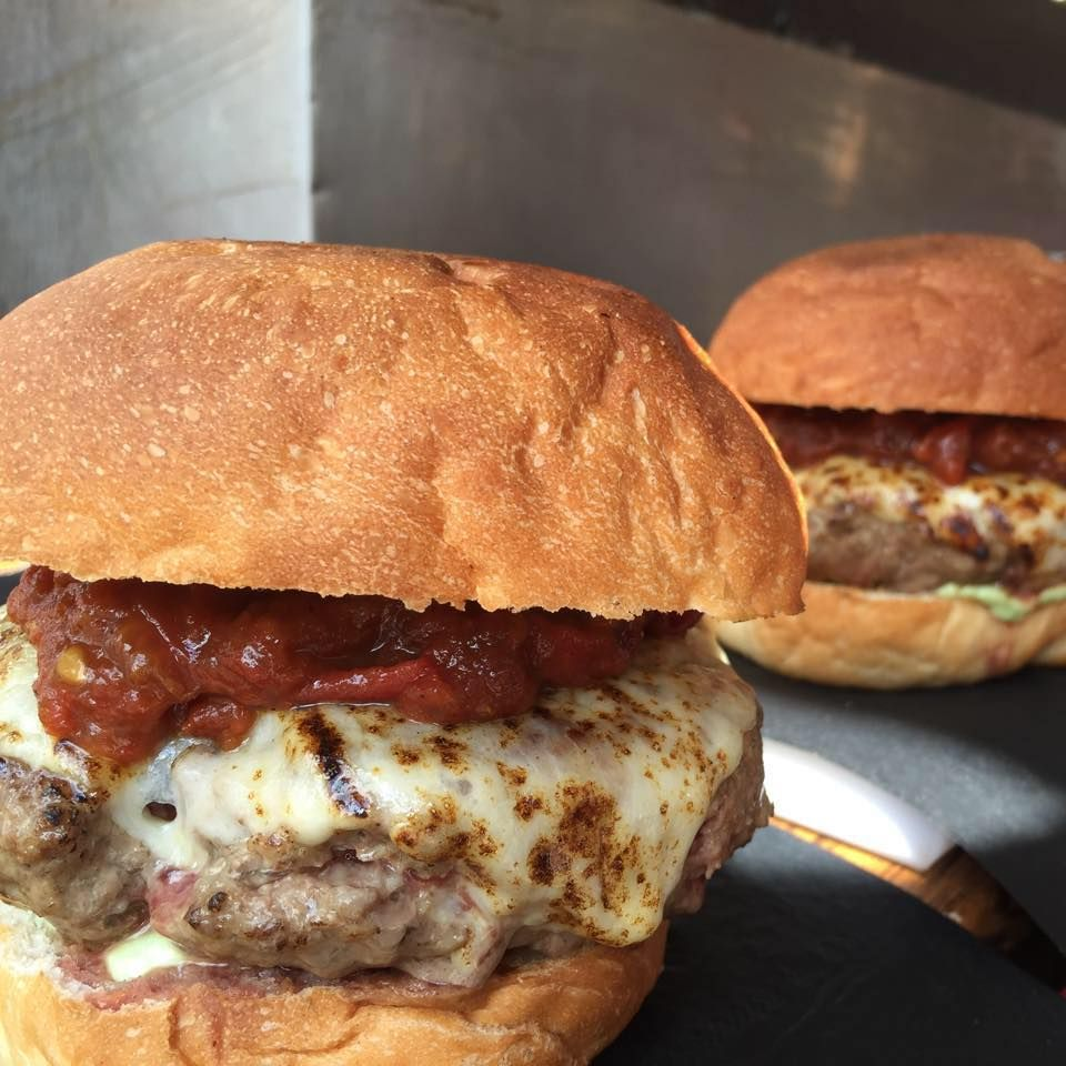 Burger with Mayonnaise Homely | High Country Olive Oi