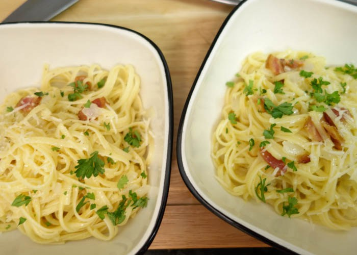 Spaghetti Carbonara | High Country Olive Oil