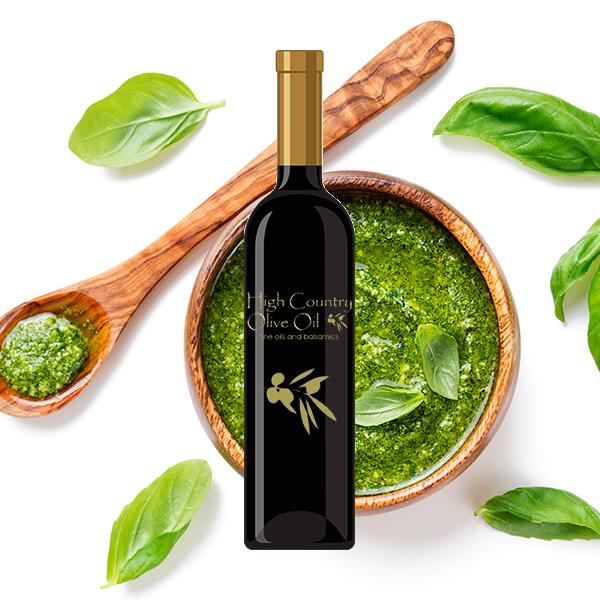 Pesto Infused Olive Oil